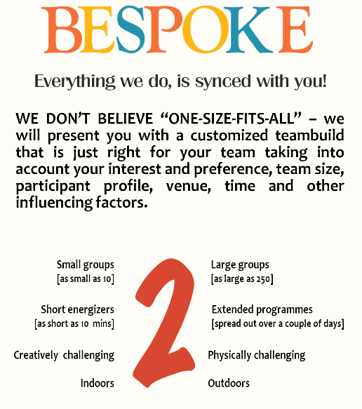 E Factor Chennai India Team Building Bespoke